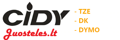 Cidy juostelės logo
