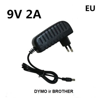 Brother ir Dymo adapteris