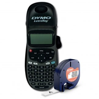 DYMO Letratag 100H black